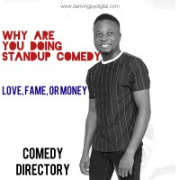 WHY ARE YOU DOING STANDUP COMEDY? | COMEDY DIRECTORY