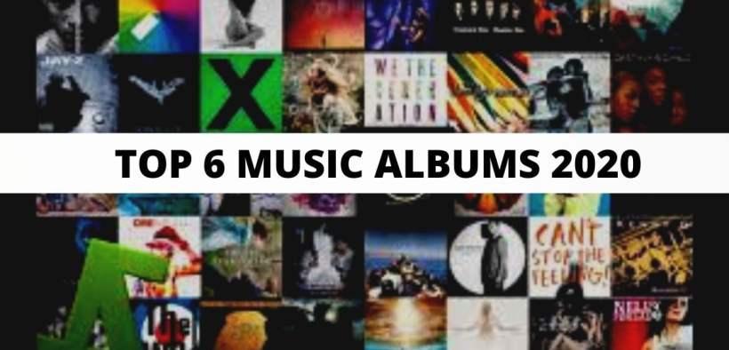 music albums 2020
