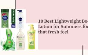 body lotion for summer