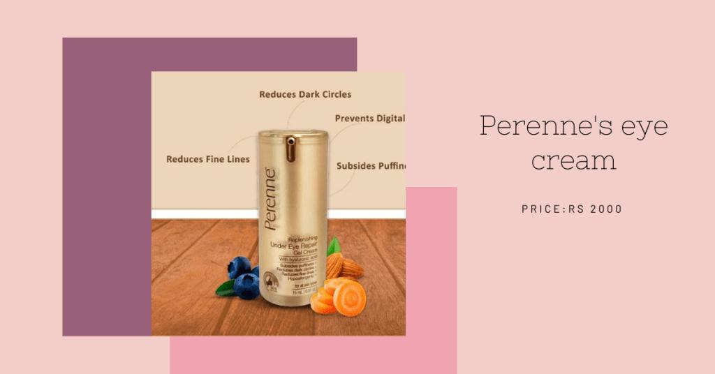 Perenne's eye cream affordable skincare_derje