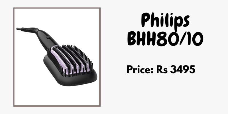 Philips best hair straightener for curly hair smooth hair curly hair management ceramic Straightener_derje