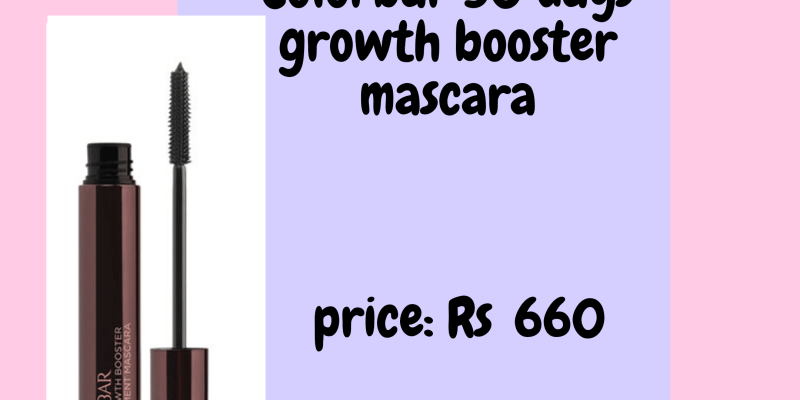 30 days growth booster mascara by colorbar