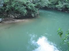 Rio Claro vom 8m-Sprung