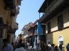 Volle Gasse im historischen Zentrum