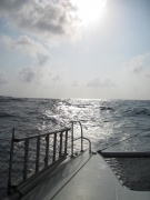 Blick aufs Meer von der Drus