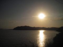 Der Gatun-See, Teil des Panamakanals