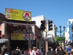 Wendys Fastfood in San Jose