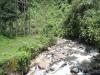 Der nahegelegene Fluss bei Jardin