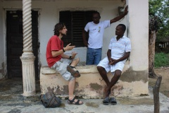 Interview in Palenque 1