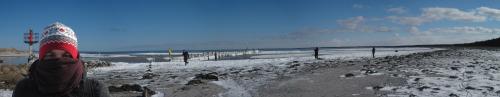 Darsser Schneekueste Panorama
