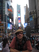 Ich @ Time Square