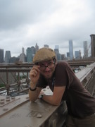 Posing auf der Brooklyn Bridge II