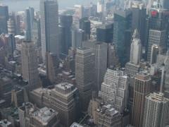 Blick auf Manhattan (Empire State Buildung) II