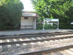 Die wohl kleinste Bahnstation