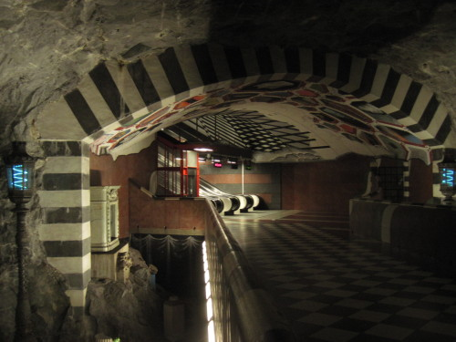 Untergrund(bahn)-Kunst