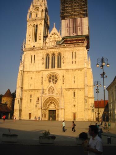 Die Kathedrale Zagreb