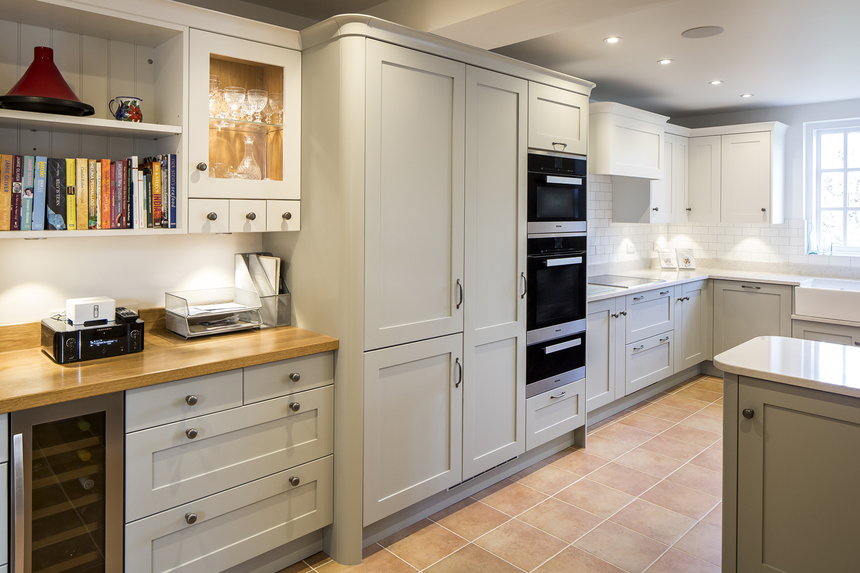 shaker style kitchen island granite how to create a beautiful der kern by miele worktops