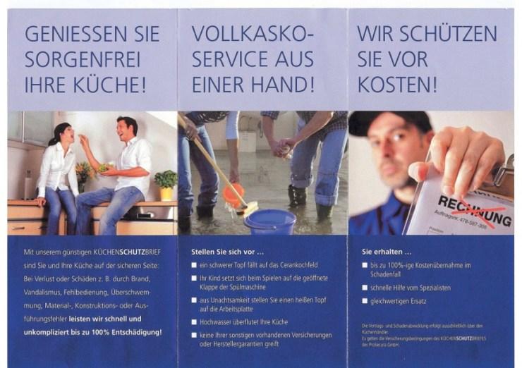 Küchenschutzbrief