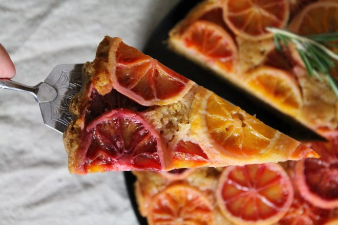 Blutorangen-Kuchen