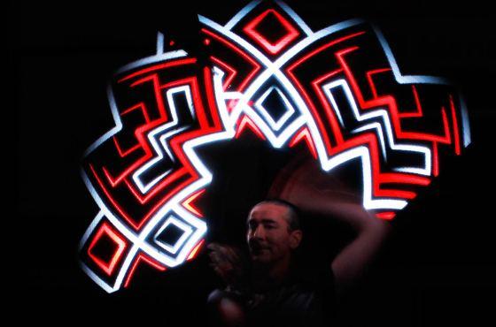LED-Show im Duo beim Sauerlandcup