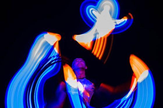 Lemmis LED-Show beim Hessentag