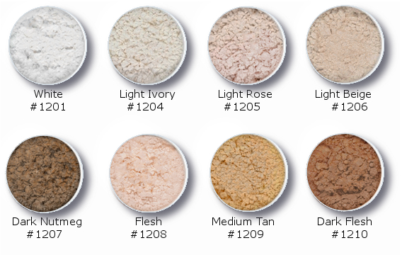 10 Translucent Powders