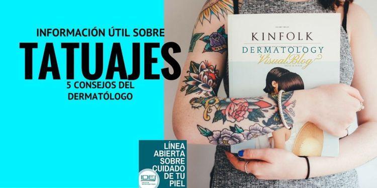 Informacion util sobre tatuajes y como eliminarlos