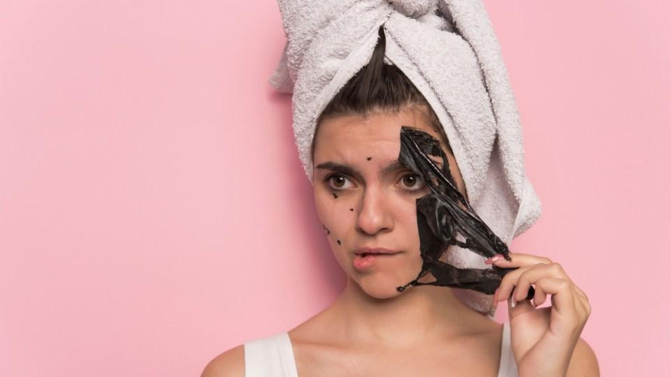 Blackhead peel off mask