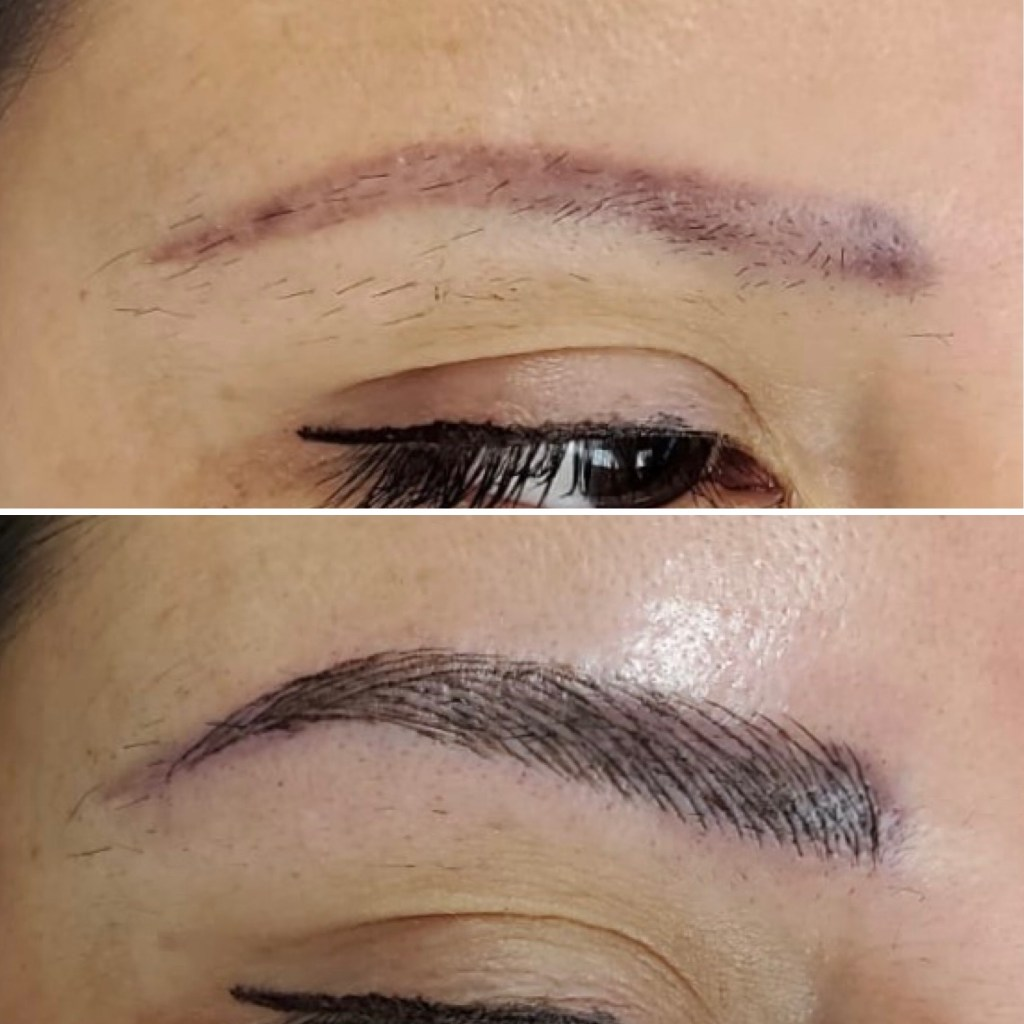 microblading pics before and after edmonton