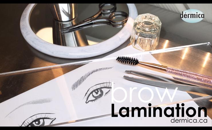 eyebrow lamination yeg