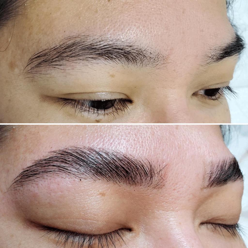 brow lamination dermica edmonton