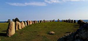 die Steinformation Ales Stenar