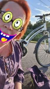 ...eine Radtour, die ist lustig...nur leider in die falsche Richtung