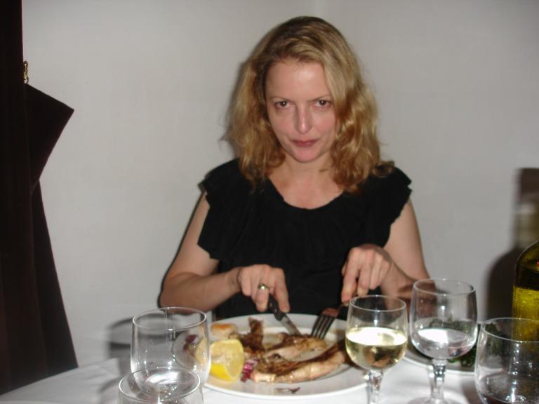Beim Kotelette im Al Pomiere