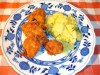 Wiener Backhendel mit Kartoffelsalat