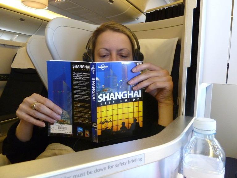Angekommen in Shanghai