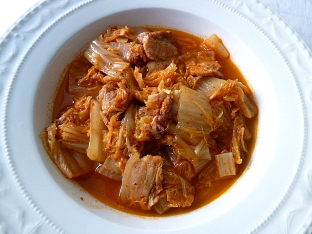 Nachgekocht: Mein Kimchi Jjigae von Missboulette