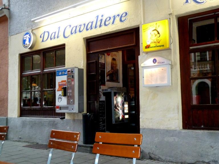"Vor dem Filmfest im ""Dal Cavaliere"""