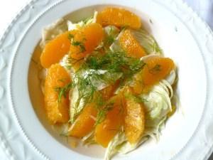 Fenchelsalat mit Orangenfilets