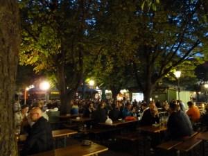 Biergarten am Viktualienmarkt