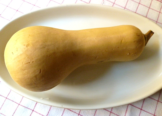 Cullen Skink aus Butternusskürbis mit geräucherten Heilbutt
