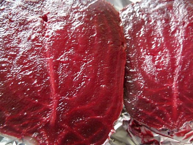 Rote Beete mit gebackenen Ziegenkäse