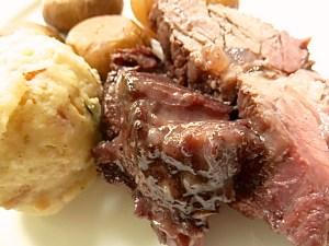 und das Fleisch dazu