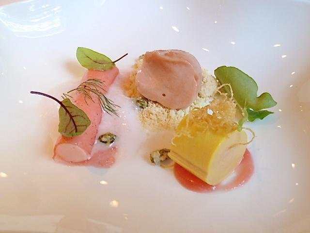 Das Rhabarber-Safran Dessert