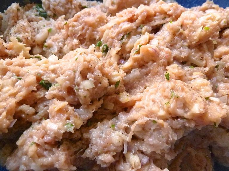 Kalbspflanzerl mit Kartoffelsalat