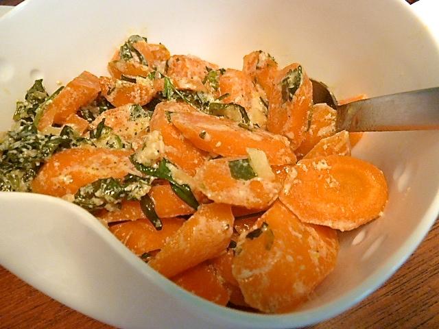 Karotten mit Ingwerrahm