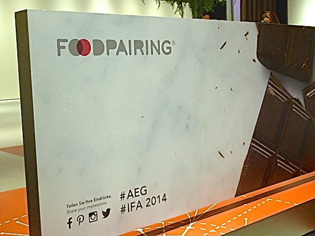 IFA 2014 – Der erste Abend bei AEG: Food-Pairing mit Christian Mittermeier