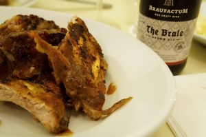 """The Brale"" zu den Spare Ribs"
