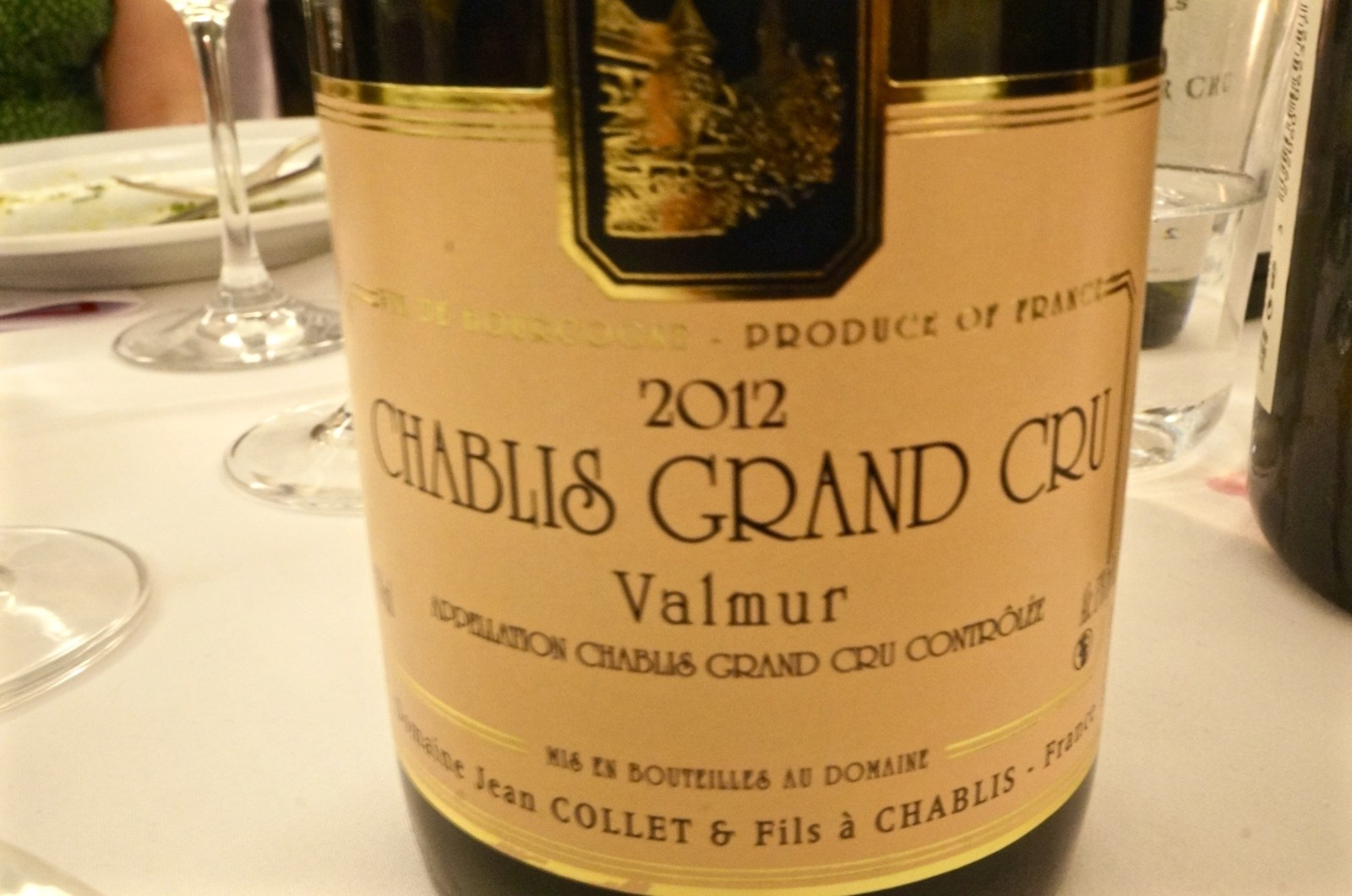 Chablis Grand Cru Valmud Jean Collet 2012