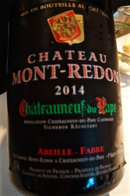dazu ein Châteauneuf-du-Pape